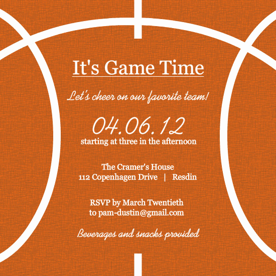 Free Basketball Invitation Templates Beautiful Basketball Half Court Template Templates Resume