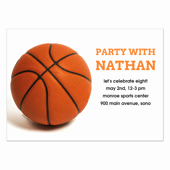 Free Basketball Invitation Templates Fresh Basketball Single Invitations & Cards On Pingg