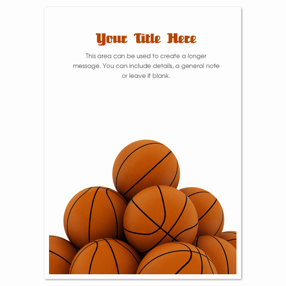 Free Basketball Invitation Templates Inspirational Basketball Pyramid Invitations & Cards On Pingg