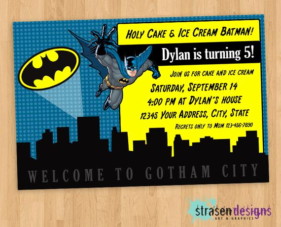 Free Batman Invitation Template Awesome 40th Birthday Ideas Batman Birthday Invitation Templates Free