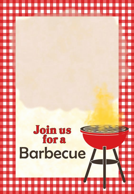 Free Bbq Invitation Template Awesome A Barbecue Free Printable Party Invitation Template