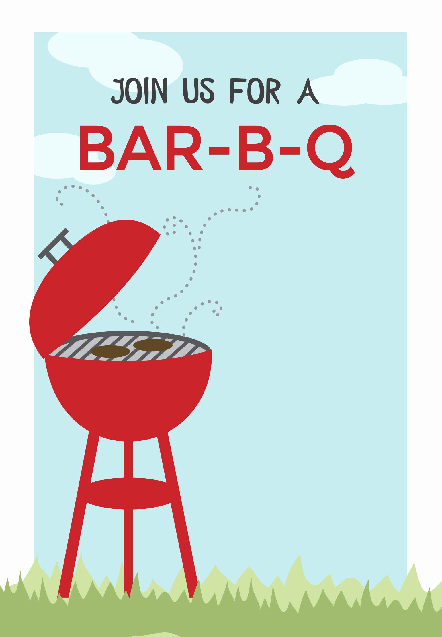 Free Bbq Invitation Template Elegant Bbq Cookout Free Printable Bbq Party Invitation Template