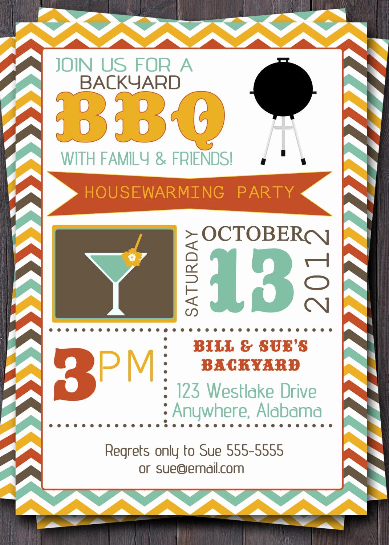 Free Bbq Invitation Template Elegant Bbq Party Invitation Invite Birthday Baby by