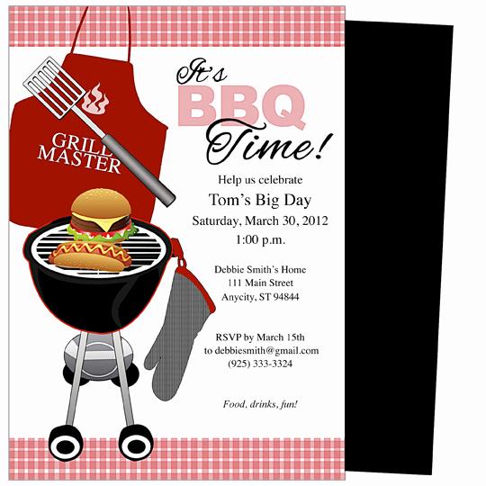 Free Bbq Invitation Template New Free Simple Birthday Party Invitations Printable