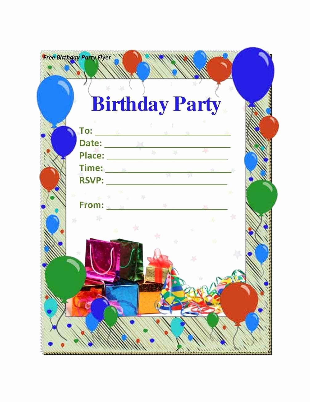 Free Birthday Invitation Templates Beautiful Free Boy Birthday Invitation Templates Template