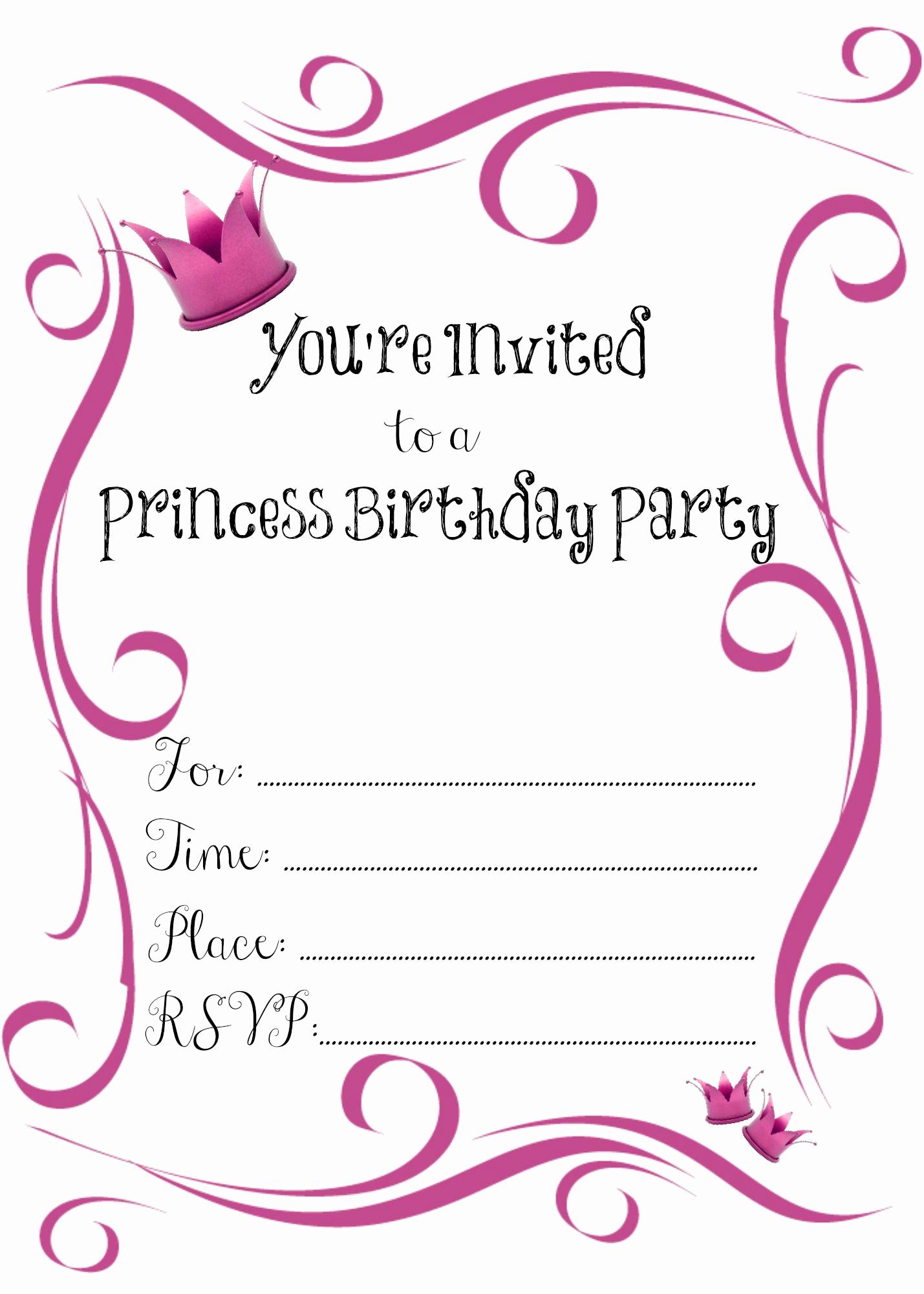 Free Birthday Party Invitation Template Elegant 21 Kids Birthday Invitation Wording that We Can Make