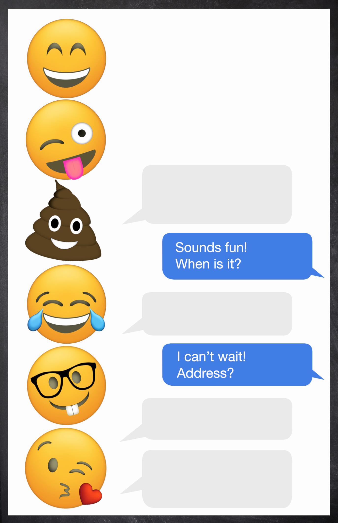 Free Birthday Party Invitation Template Unique Emoji Birthday Invitations Free Printable Template Paper
