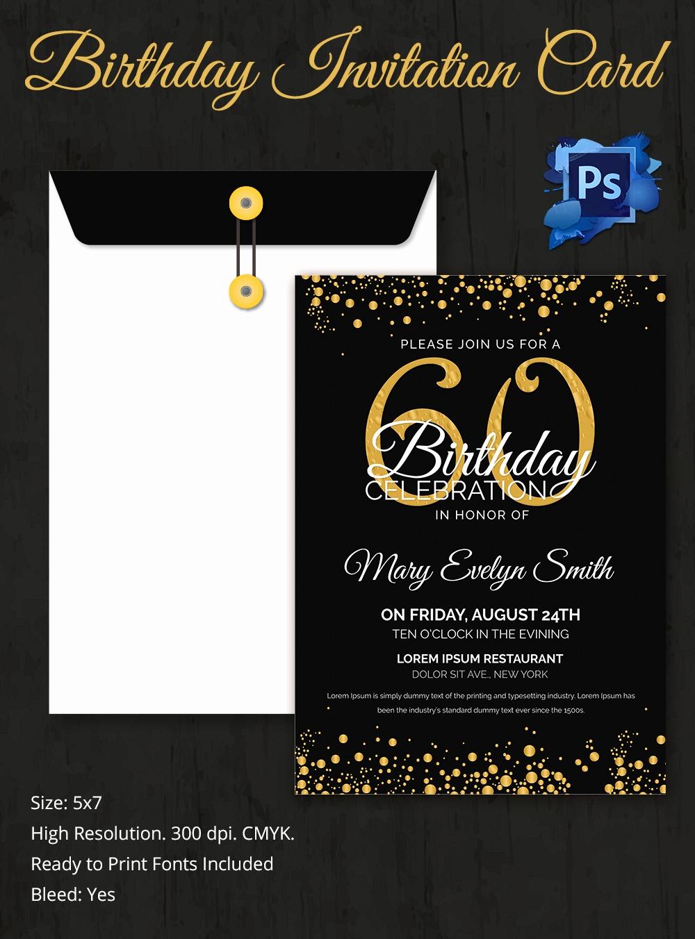 Free Birthday Party Invitation Templates Lovely Birthday Invitation Template 32 Free Word Pdf Psd Ai