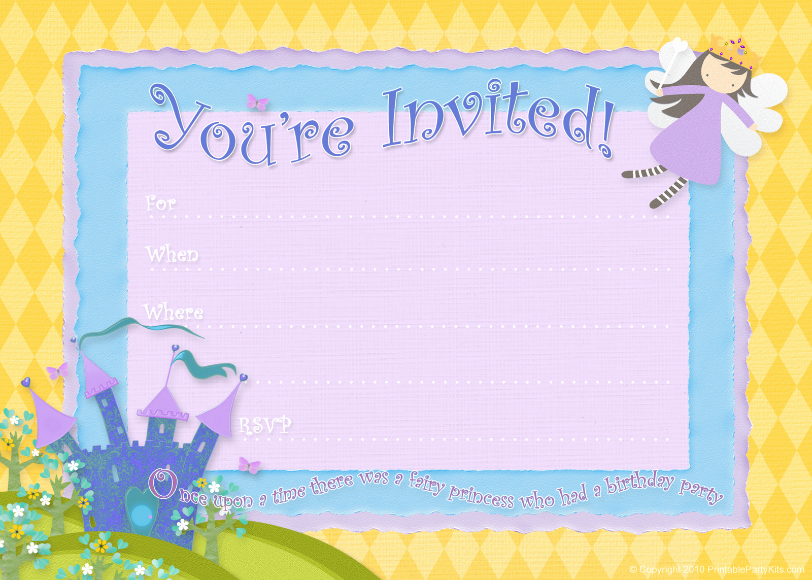 Free Birthday Party Invitation Templates New Free Birthday Party Invitations – Bagvania Free Printable