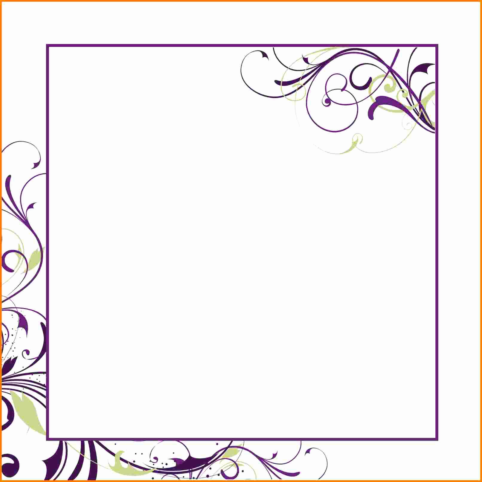 Free Blank Invitation Templates Unique Blank Invitation Templates for Microsoft Word