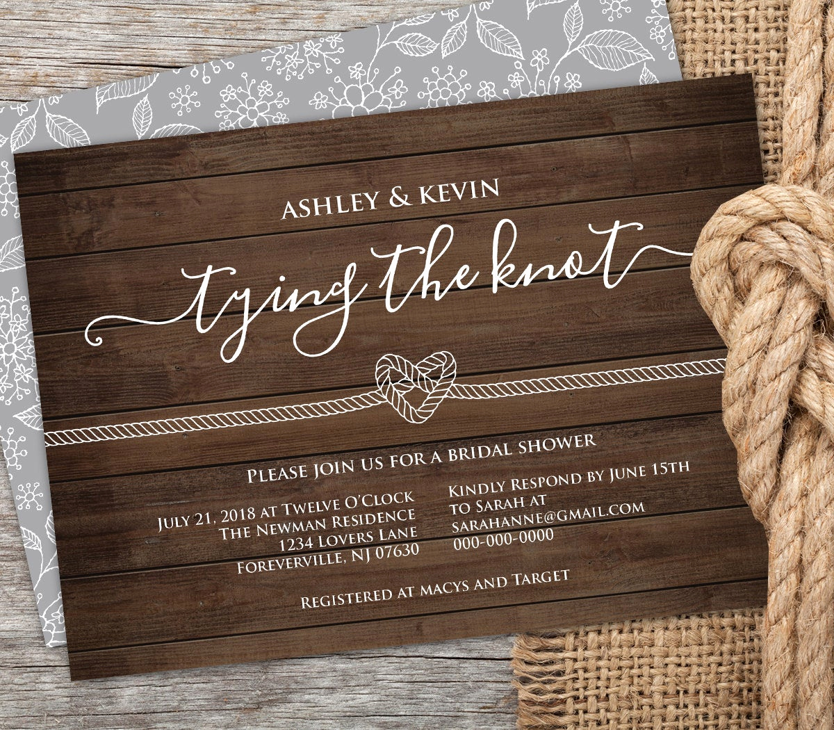 Free Bridal Shower Invitation Printables Awesome Bridal Shower Invitation Printable Rustic Wedding Shower