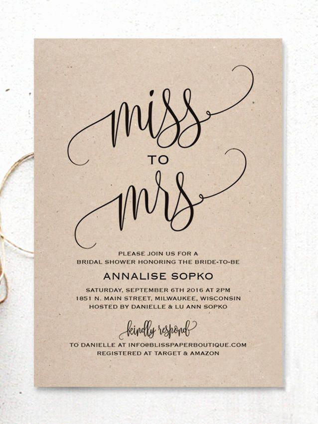 Free Bridal Shower Invitation Templates Best Of 17 Printable Bridal Shower Invitations You Can Diy