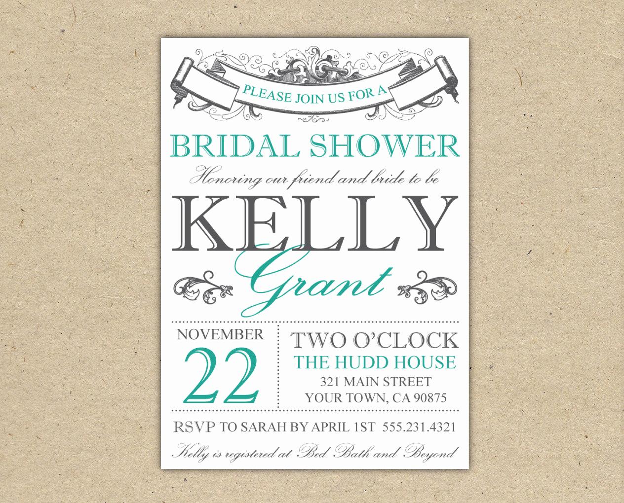 Free Bridal Shower Invitation Templates Elegant Chandeliers & Pendant Lights