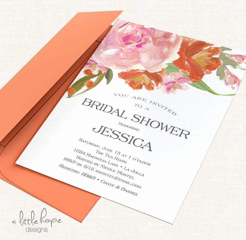 Free Bridal Shower Invitation Templates Fresh Printable Bridal Shower Invitation Template Instant Download