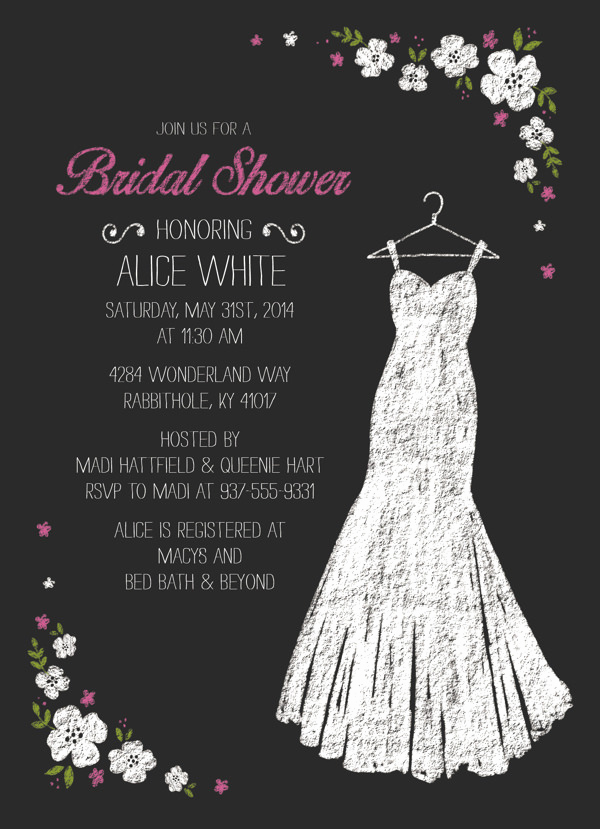 Free Bridal Shower Invitation Templates Unique 27 Wedding Shower Invitation Templates Psd Ai Vector