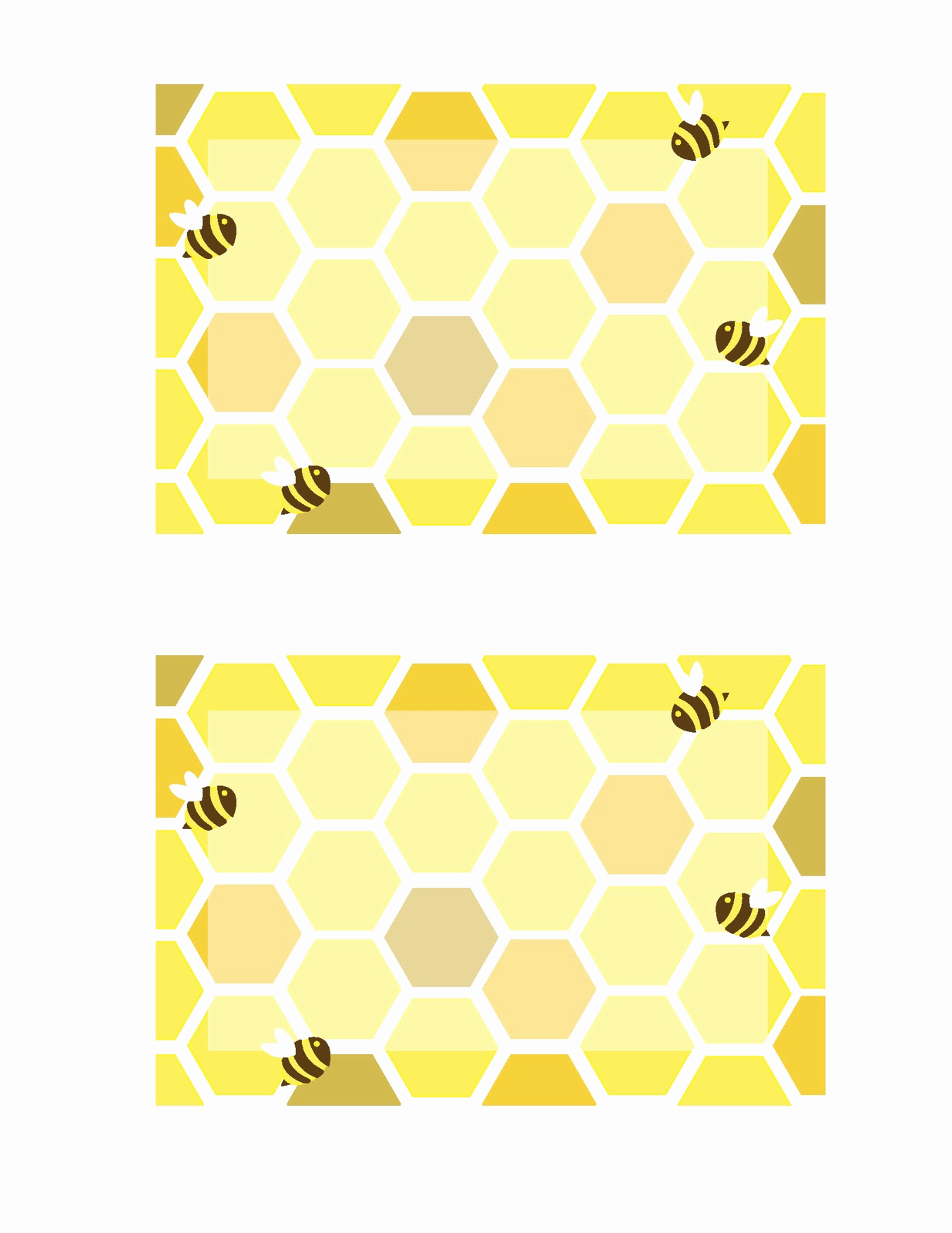 Free Bumble Bee Invitation Template Fresh Everyday Art Honeybee Printables