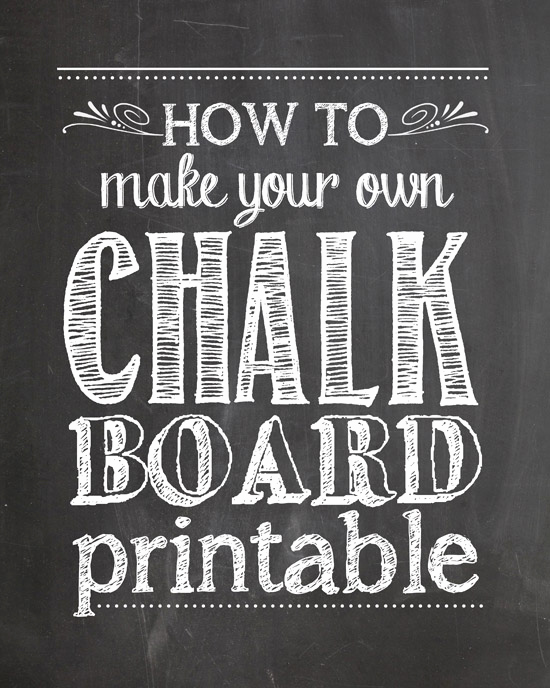 Free Chalkboard Invitation Templates Fresh How to Make Your Own Chalkboard Printables How to Nest