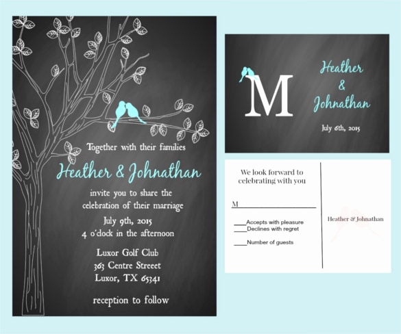 Free Chalkboard Invitation Templates Lovely 26 Chalkboard Wedding Invitation Templates – Free Sample