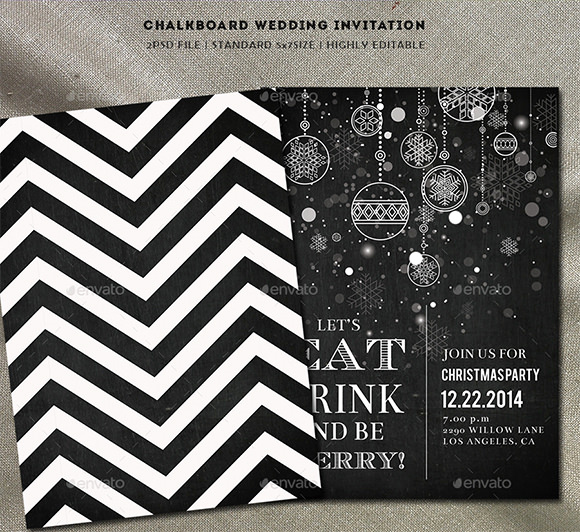 Free Chalkboard Invitation Templates Lovely Chalkboard Invitation Template 43 Free Jpg Psd