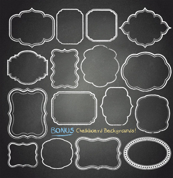 Free Chalkboard Invitation Templates Unique 37 Chalkboard Backgrounds Eps Ai Illustrator format