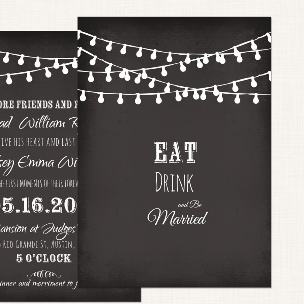 Free Chalkboard Invitation Templates Unique Chalkboard Wedding Invitation Templates