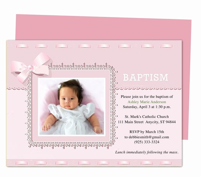 Free Christening Invitation Templates Awesome 21 Best Printable Baby Baptism and Christening Invitations