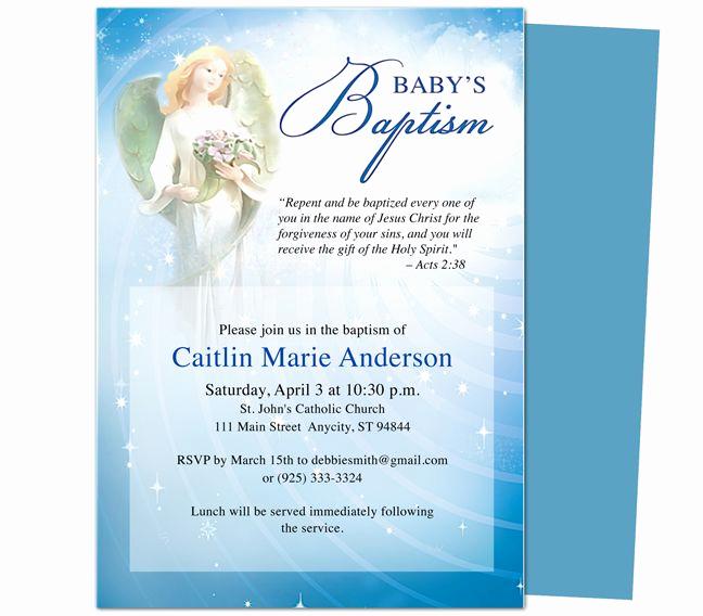 Free Christening Invitation Templates Elegant Baby Baptism Christening Invitations Printable Diy