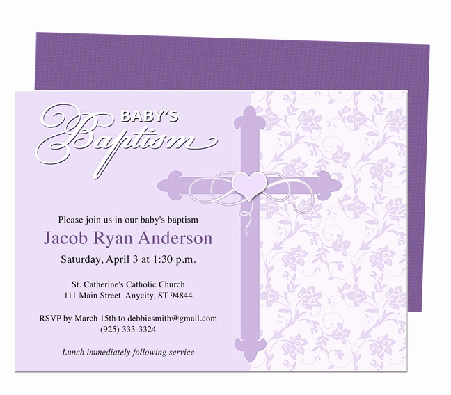 Free Christening Invitation Templates Luxury 21 Best Images About Printable Baby Baptism and