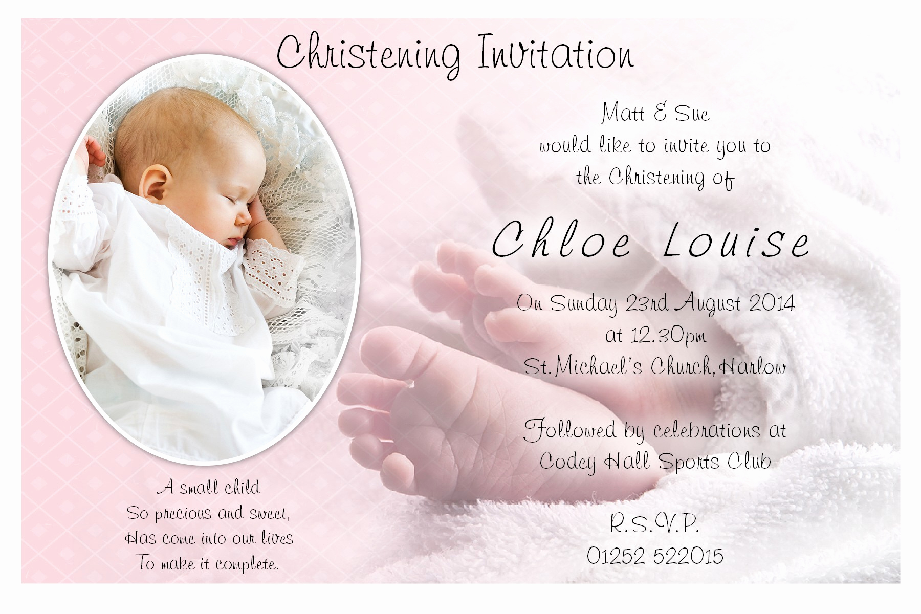 Free Christening Invitation Templates New Baptism Invitations Free Baptism Invitation Template