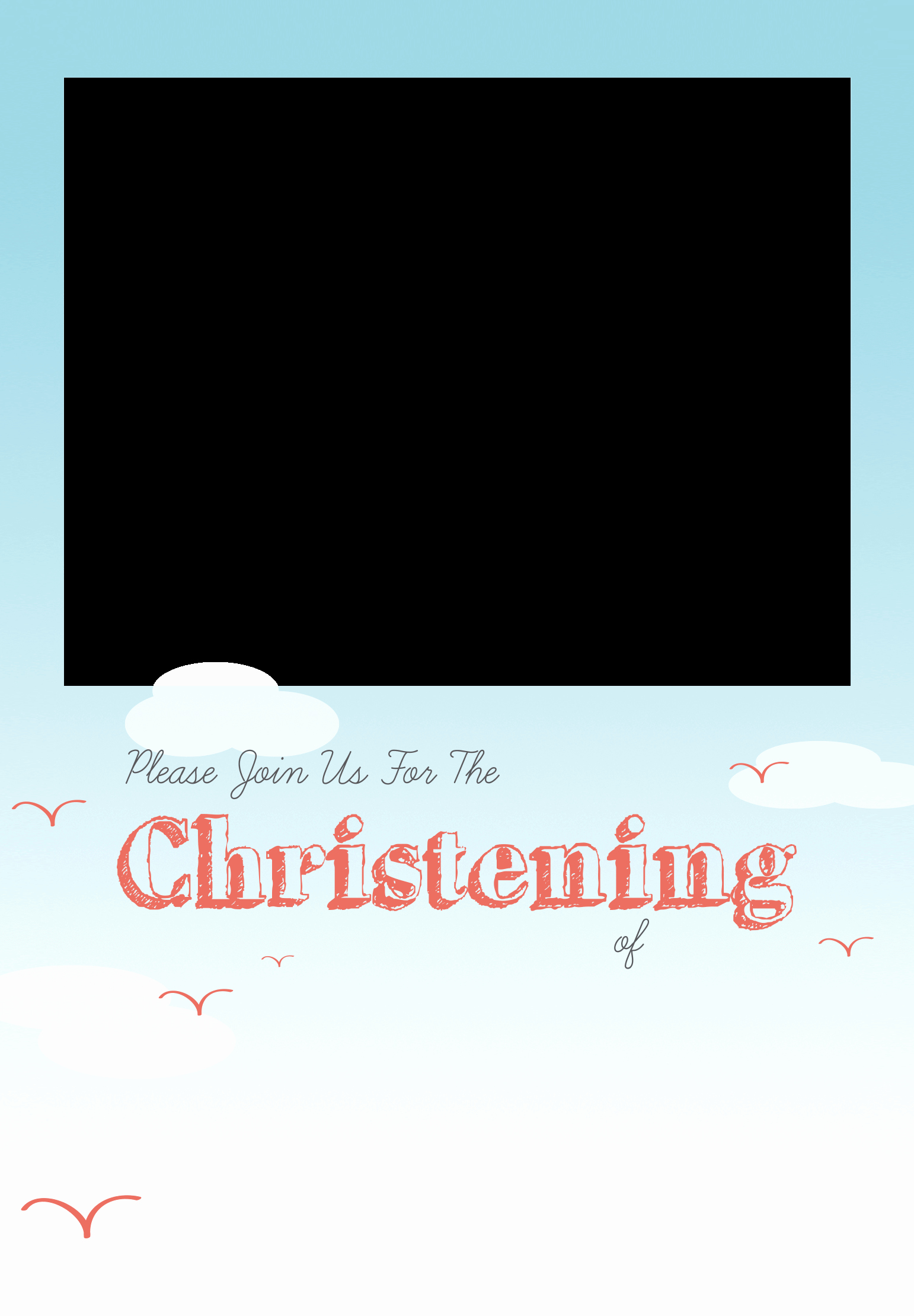 Free Christening Invitation Templates Unique All Smiles Free Printable Baptism & Christening
