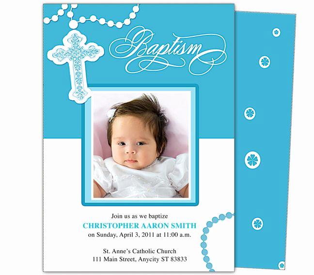 Free Christening Invitation Templates Unique Baby Baptism Christening Invitations Printable Diy Infant