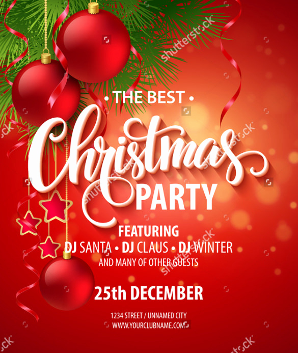 Free Christmas Invitation Templates Awesome 25 Party Invitation Templates Psd Ai Word