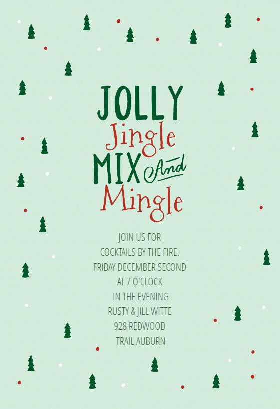 Free Christmas Invitation Templates Inspirational Gifted Christmas Invitation Template Free