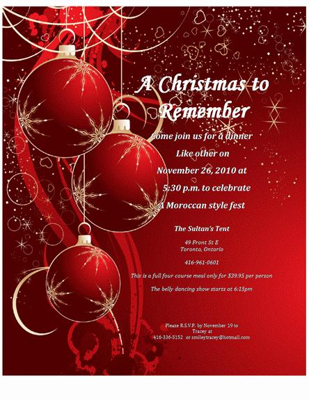 Free Christmas Invitation Templates Luxury Christmas Invitation Templates