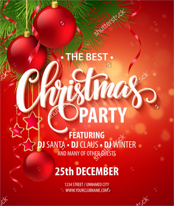 Free Christmas Invitation Templates Word Elegant 32 Christmas Party Invitation Templates Psd Vector Ai