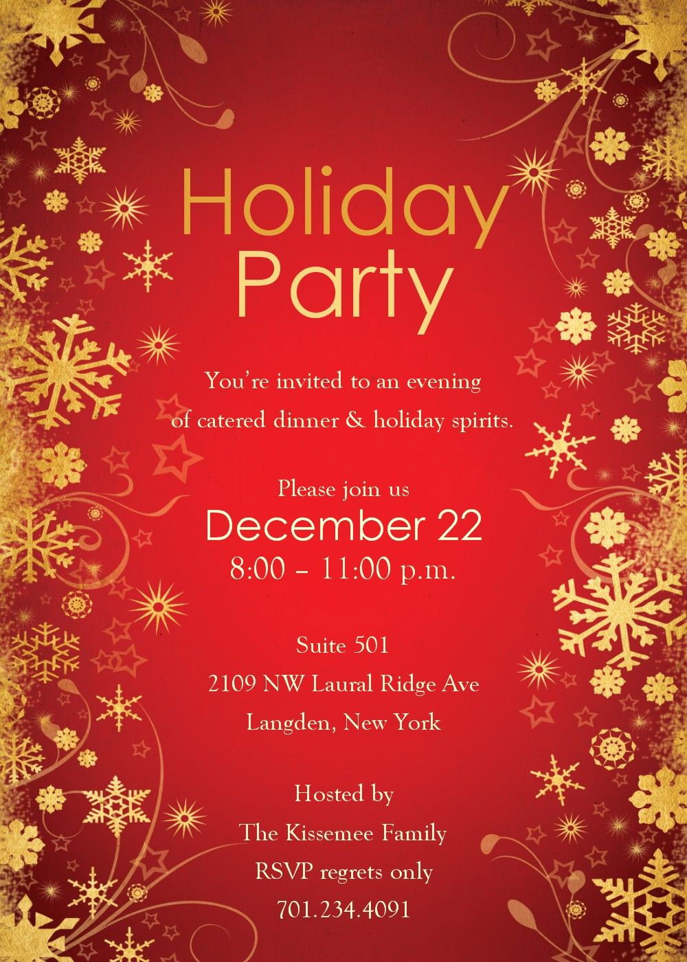 Free Christmas Party Invitation Templates Awesome Free Holiday Party Invitation Templates Agqszaoj