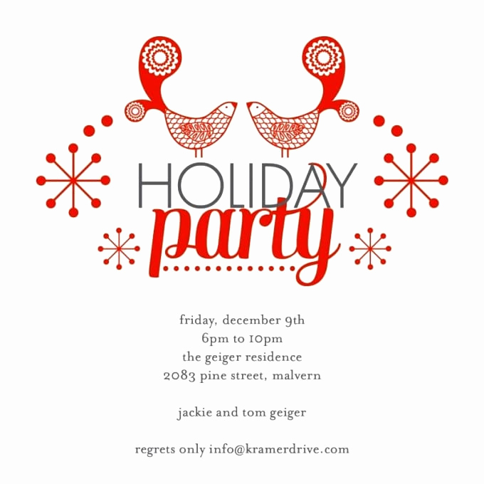 Free Christmas Party Invitation Templates Elegant Free Christmas Party Invitation Printable