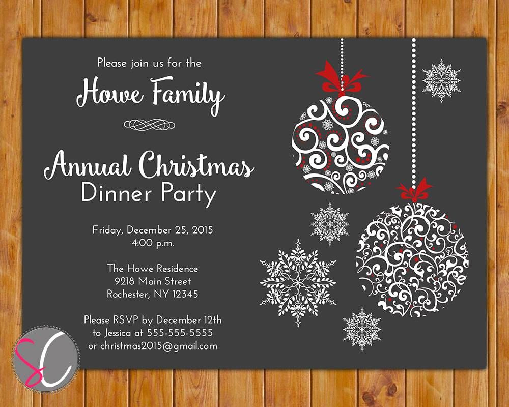 Free Christmas Party Invitation Templates Fresh Holiday Party Invitations Free Templates