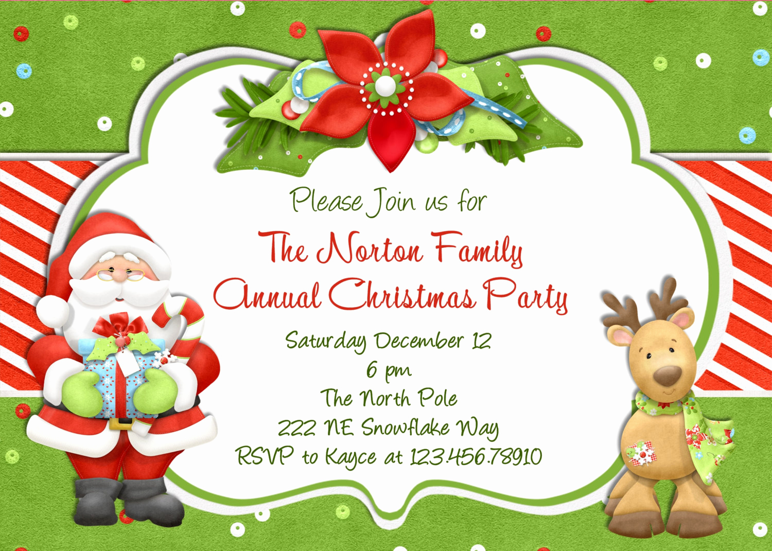 Free Christmas Party Invitation Templates Lovely Christmas Party Invitation Christmas Holiday Party