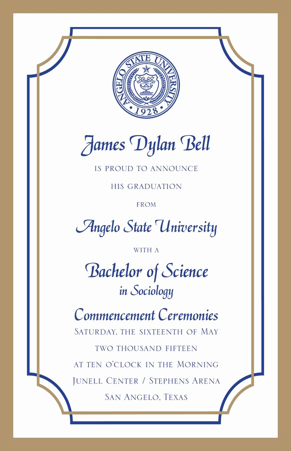 Free College Graduation Invitation Templates Lovely 25 Best Ideas About College Graduation Announcements On