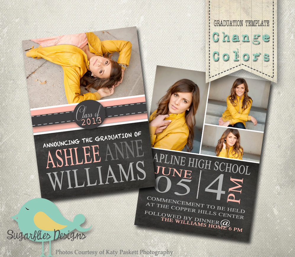 Free College Graduation Invitation Templates Luxury Graduation Announcement Templates Senior Graduation 19