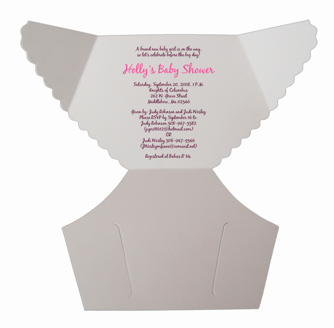 Free Diaper Party Invitation Templates Inspirational Free Baby Diaper Invitation Template