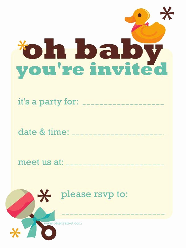 Free Diaper Party Invitation Templates Luxury Best 25 Diaper Invitation Template Ideas On Pinterest