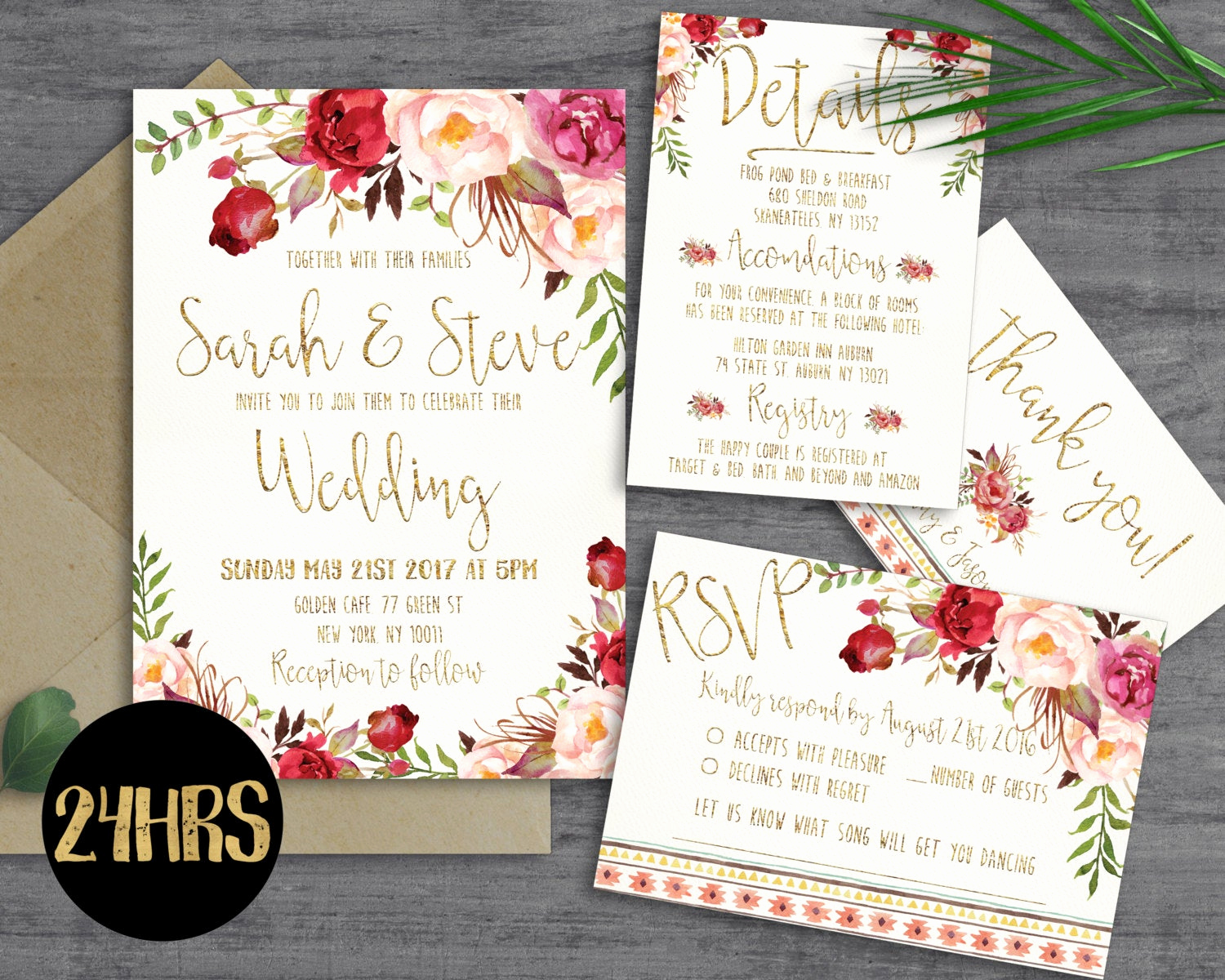 Free Downloadable Wedding Invitation Templates Lovely Printable Wedding Invitation Template by Sunnyprint