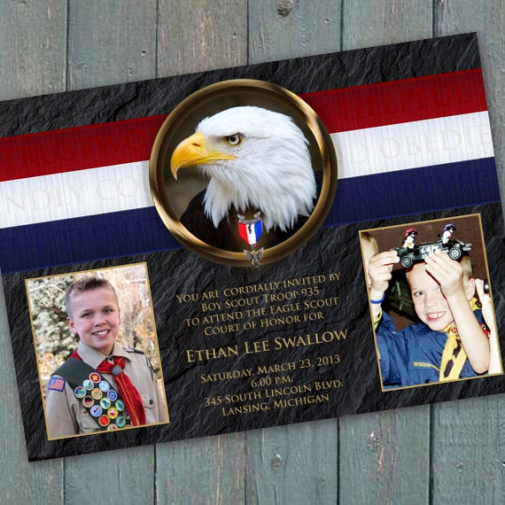 Free Eagle Scout Invitation Template Beautiful Eagle Scout Court Of Honor Invitation Bsa Invitation Eagle