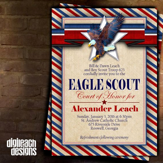 Free Eagle Scout Invitation Template Elegant Best 25 Eagle Scout Cake Ideas On Pinterest