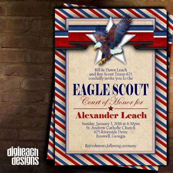 Free Eagle Scout Invitation Template Elegant Best 25 Eagle Scout Cake Ideas On Pinterest