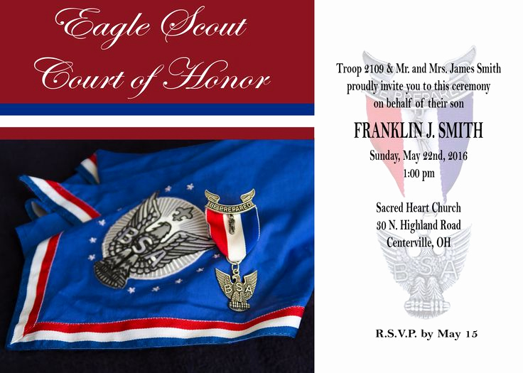 Free Eagle Scout Invitation Template Inspirational Eagle Scout Court Of Honor Here is My Latest Free