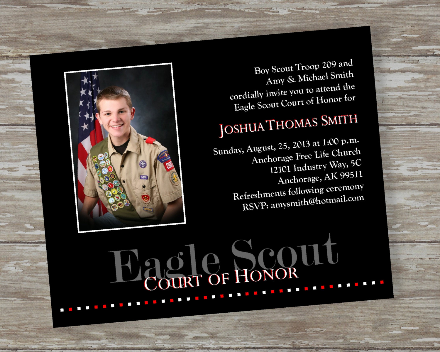 Free Eagle Scout Invitation Template Inspirational Eagle Scout Court Of Honor Invitations by Itsallaboutthecards
