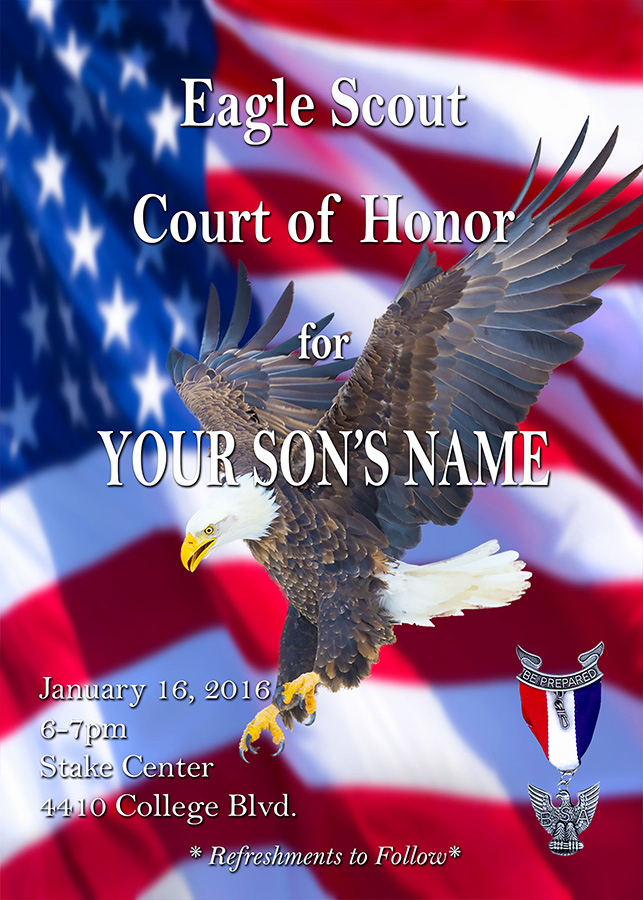 Free Eagle Scout Invitation Template Lovely Free Invitations – Eaglescoutgift